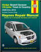 2008 - 2012 Dodge Caravan Chrysler Town & Country Haynes Repair Manual (SKU: 1620920441)