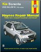 2003 - 2013 Kia Sorento Haynes Repair Manual (SKU: 1620920468)
