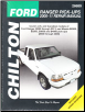 2000 - 2011 Ford Ranger & 2000 - 2009 Mazda B-Series Pick-Ups Chilton Total Car Care Manual (SKU: 1620920484)