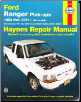 1993 - 2011 Ford Ranger & Mazda B2300, B2500, B3000 & B4000 Pick-Ups Haynes Repair Manual (SKU: 1620920497)