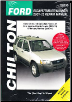 2001 - 2012 Ford Escape, Mazda Tribute & 2005 - 2011 Mercury Mariner Chilton's Total Car Care Manual (SKU: 9781620920800)