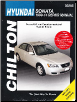 1999 - 2014 Hyundai Sonata Chilton's Total Car Care Manual (SKU: 1620920883)