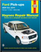 2004 - 2014 Ford F150 Pick-Ups 2/4WD Haynes Repair Manual (SKU: 1620920948)