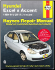 1986 - 2013 Hyundai Excel & Accent Haynes Repair Manual (SKU: 1620921685)