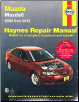 2003 - 2013 Mazda Mazda6 Haynes Repair Manual (SKU: 1620921707)