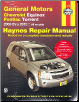 2005 - 2012 General Motors Chevrolet Equinox & Pontiac Torrent Haynes Automotive Repair Manual (SKU: 1620921766)