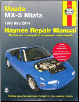 1990 - 2014 Mazda MX-5 & Miata, All Models, Haynes Repair Manual (SKU: 1620921820)