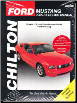2005 - 2014 Ford Mustang Chilton's Total Car Care Manual (SKU: 162092188X)