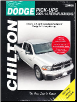 2009 - 2014 Dodge Ram Full Size Pick-Ups, 1/2, 3/4 & 1 Ton Chilton's Total Car Care Manual (SKU: 1620922142)