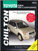 1996 - 2012 Toyota RAV4 Chilton's Total Car Care Manual (SKU: 1620922215)