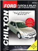 2006 - 2014 Ford Fusion & Mercury Milan Chilton's Total Car Care Manual (SKU: 1620922274)