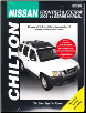 2005 - 2014 Nissan Frontier &  Xterra, Chilton's Total Car Care Manual (SKU: 162092238X)