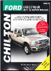 2011-2016 Ford Super Duty F250, F350 Pick-ups Gas/Diesel Chilton's Repair Manual (SKU: 1620922630)