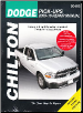 2009 - 2016 Dodge Ram Full Size Pick-Ups, 1/2, 3/4 & 1 Ton Chilton's Total Car Care Manual (SKU: 1620922703)