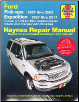 1997 - 2004 Ford F150, 1997- 1999 F250, 1997 - 2017 Expedition and Lincoln Navigator Haynes Repair Manual (SKU: 1620923025)