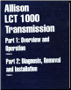 Allison LCT 1000 Automatic Transmission Service Know-How Reference Manuals & Videos (SKU: 1734010)