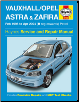 Feb 1998 - Apr 2004 (R-04 Reg) Vauxhall, Opel Astra & Zafira Gas (Petrol) Haynes Repair Manual (SKU: 1844251659)