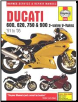 1991 - 2005 Ducati 600, 620, 750, 900 2-Valve V-Twins Haynes Repair Manual (SKU: 9780857339867)