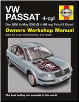 2000 - 2005 Volkswagen Passat 4-Cylinder, Haynes Owners Workshop Manual (SKU: 9781785210167)