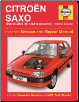 1996 - 2004 (N to 54) Citroen Saxo Petrol and Diesel Haynes Repair Manual (SKU: 1844252809)