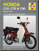 1967 - 2003 Honda C50, C70, C90 Haynes Repair Manual (SKU: 1844253759)