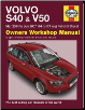 2004 - 2007 Volvo S40 & V50 Petrol & Diesel Haynes Owner's Workshop Manual (SKU: 9780857338952)