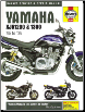 1995 - 2006 Yamaha XJR 1200 and 1300 Haynes Service and Repair Manual (SKU: 1844257401)