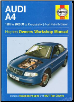 1995 - 2000 (M-V-X) Audi A4 Gas & Diesel Haynes Repair Manual (SKU: 9781844257430)