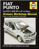 2003 - 2007 Fiat Punto Haynes Owners Workshop Manual (SKU: 1844257461)