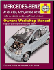 1998 - 2004 Mercedes A-Class A140 A160 A170 A190 A210 Gas Diesel Haynes Repair Manual (SKU: 9780857339522)