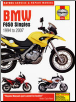 1994 - 2007 BMW F650 Singles Haynes Repair Manual (SKU: 9780857338662)