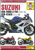 2003 - 2008 Suzuki GSX-R600, 750 & 1000 Haynes Repair Manual (SKU: 9781785213229)