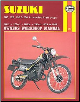 1979 - 1989 Suzuki TS100, TS125, TS185, TS250 Haynes Repair & Service Manual (SKU: 1850102600)
