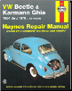 1954 - 1979 Volkswagen Beetle & Karmann Ghia Haynes Repair Manual (SKU: 1850107297)