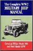 1941 - 1945 Complete WW2 Military Jeep Manual (SKU: 1855201216)
