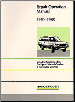 1970 - 1985 Range Rover (Two Door) Factory Repair & Operation Manual (SKU: CARTECH-RR10WH)