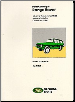 1948 - 1985 Range Rover Factory Parts Catalog (SKU: CARTECH-RR85PH)
