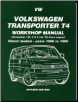 1996 - 1999 Volkswagen Transporter T4 Gasoline Models Workshop Manual (SKU: 185520679X)