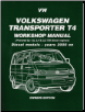 2000 on Volkswagen Transporter T4  Diesel Models Workshop Manual (SKU: 1855206811)