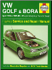 1998 - 2000 Volkswagen Golf & Bora Haynes Repair Manual (SKU: 1859607276)