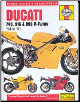 1994 - 2001 Ducati 748, 916, 996 Haynes Repair Manual (SKU: 9780857339577)