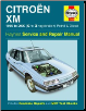 1989 - 2000 (G to X) Citroen XM Petrol and Diesel Haynes Repair Manual (SKU: 1859609368)