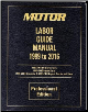 1999 - 2016 MOTOR Auto, Light Truck, Van SUV Labor Time Flat Rate Guide (SKU: 1582514534)