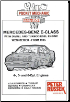 1995 - 2000 Mercedes-Benz E-Class (W210 Series) with 4, 5 & 6 Cyl. Diesel & TurboDiesel Engines, Russek Repair Manual (SKU: 1898780625)