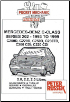 1993 - 1999 Mercedes Benz C-Class, W202 Series C200D, C220D, C250D, C250TD, C200 CDI, C220 CDI, 2.0, 2.2 & 2.5L Diesel, Russek Repair Manual (SKU: 1898780676)