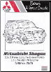 1999 - 2003 Mitsubishi Shogun 2.5, 2.8 and 3.2L Diesel/TurboDiesel, 3.5L GDI V6 Engine, Russek Repair Manual (SKU: 189878982X)