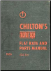 1958 - 1966 ChiltonFlat Rate and Parts Manual (SKU: 1966Chilton)