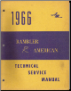 1966 American Motors Rambler Technical Service Manual (SKU: AM665004)