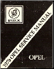 1978 Opel Factory Service Manual (SKU: 1978-OPEL)