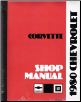 1980 Chevrolet Corvette Shop Manual (SKU: ST36480)